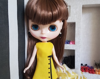 Custom Blythe dress Sunbeam