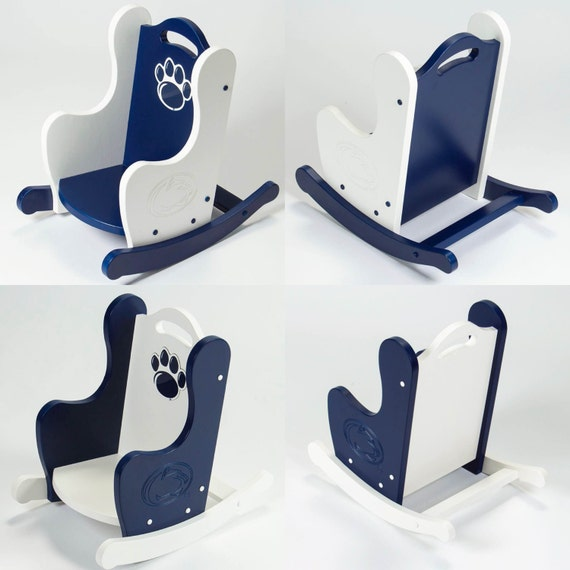 Penn State Childrens Rocking Chair, Nittany Lion Rocking Chair