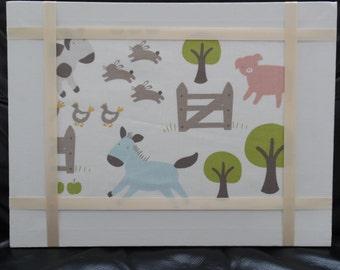 Animal farm canvas
