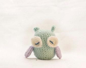Amigurumi Owl Rattle