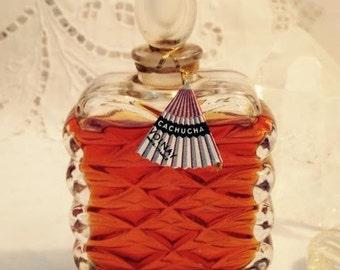 Volnay, Cachucha, 2 oz. Flacon, Pure Perfume Extrait, 1937, Paris, France ..