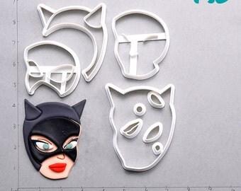 Catwoman Fondant Cutter  catwoman ornament,catwoman shirt,catwoman goggles,catwoman art,