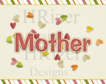 Digital Mother's Card