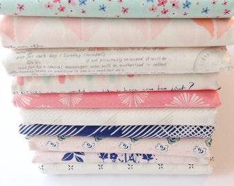 Paperie Fat Quarter Bundle of Art Gallery Fabrics Cotton