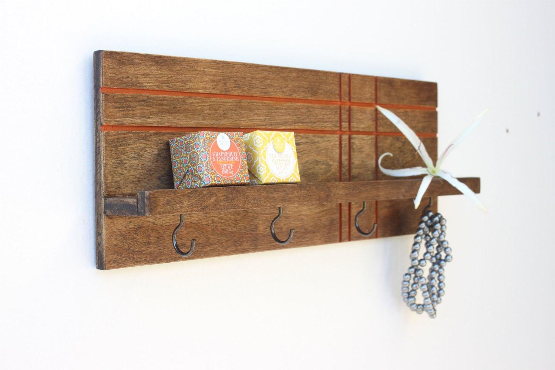 Modern Shelf Jewelry Rack Key Holder For Wall Entryway Wall
