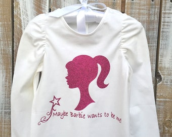Maybe Barbie Wants To Be Me Infant Tee