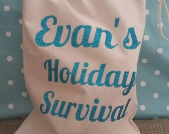 Large Holiday Survival Kit Bag
