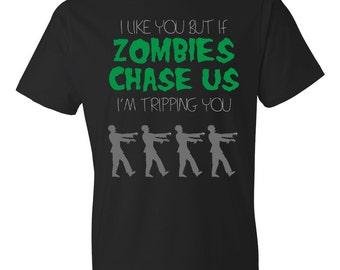 mens zombie tshirt