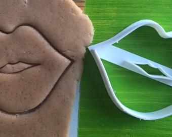 Cookie Cutter lips hugs kisses love cookiecutter cookies custom shape custom size custom picture