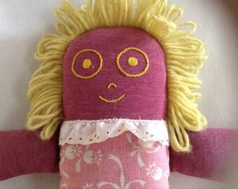 Vintage Cloth Rag Doll