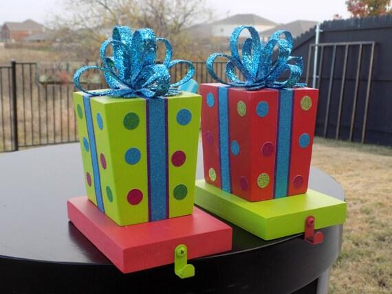 gift stocking holder set stocking holder by thatdreamyoudream. Black Bedroom Furniture Sets. Home Design Ideas
