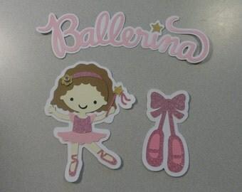 Tiny Dancer Ballerina Cricut Die Cuts