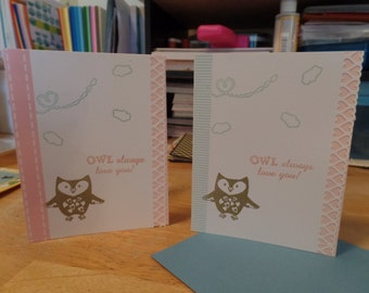 Owl Always love you 2-pack