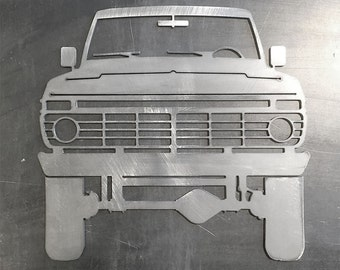 Ford Highboy F250 Truck Front Ornamental Profile
