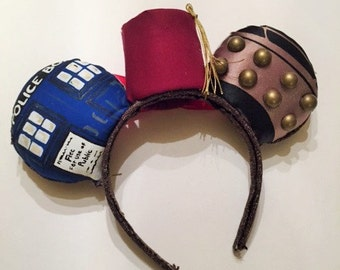 11th Doctor (Doctor Who) Inspired Mouse Ears
