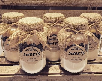 Cookie Mix In A Jar, Weddings, Party Favors, Bridal Showers, Birthdays, Gifts, Holidays, Baptism, Communion, Corporate Gift