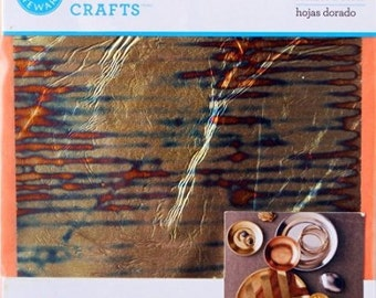 Martha Stewart  crafts Gilding  12 sheets  5 3/8-Inches by 5 3/8-Inches stripe 33320