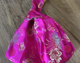 Oriental Knot Bag - Pink