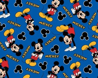 Disney Mickey 28 Fabric From Springs Creative
