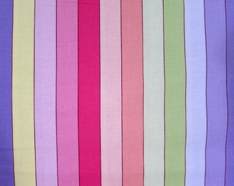 Pastel Quilting Stripe Fabric From David Textiles