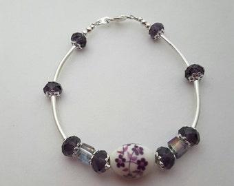 Purple Porcelain Sparkle