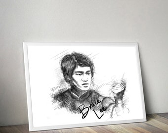 Bruce Art/Canvas Glicee Print [Limited Edition]
