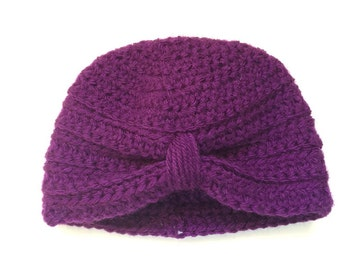 Crochet Baby Turban Hat