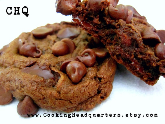 Ultimate Chocolate Overload Cookies Recipe Homemade Cookie Recipes ...