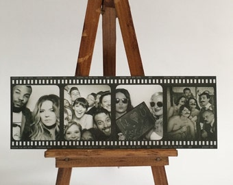 Personalised film strip style photo magnet prints made from your own pictures, vertical and horizontal designs available!