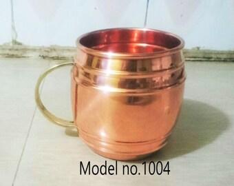 Copper Mug ( Handle in Brass)