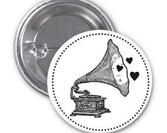 Badge music vintage!