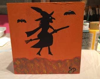 Halloween Tissue Box Cover