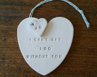 I Can't Say I Do Without You ~ Bridesmaid Proposal ~ Bridesmaid Gift ~ Will You Be My Bridesmaid ~ Maid of Honor Proposal