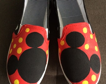 MICKEY MOUSE Shoes - hand painted
