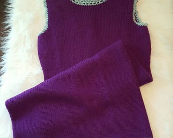 Vintage Jonathan Logan Wool Dress