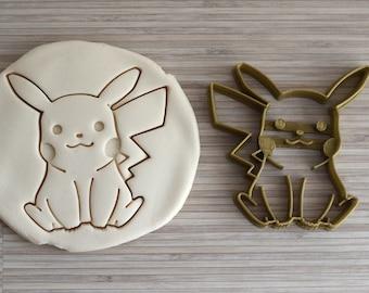 Pikachu pokemon cookie cutter