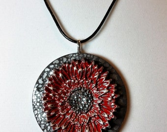 Silver Posey II Pendant Necklace
