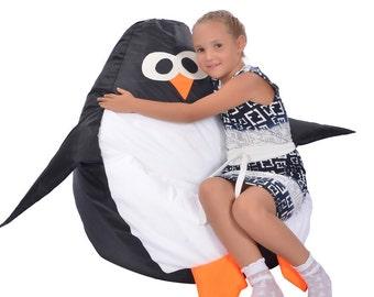 Penguin, Kid's Bean Bag Chair!