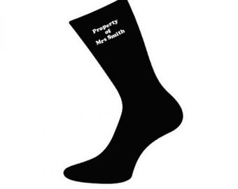 Personalised Socks - Personalised text socks