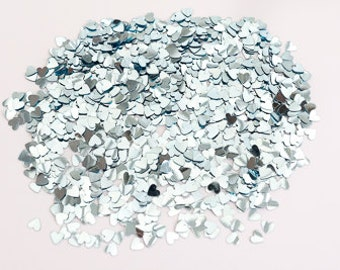 Pale Blue Hearts - Wedding Table Confetti
