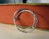 Silver Hoop Earrings, Everyday Hoops, Hammered Hoops, Silver Hoops, Small Silver Hoops, Silver Earrings