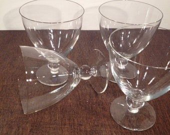 Ball Stemmed Wine Glasses - Set of 4