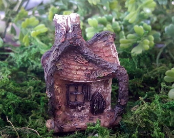 Miniature Teeny Fairy Hollow House
