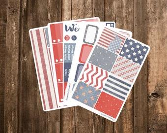 July Sticker Kit