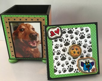 Pet Memorial Box - CUSTOM - contact me