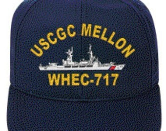USCGC MELLON WHEC-717  Ball Cap   New Item