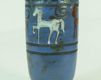vintage VASE Ceramano Pergamon 50s Hanns Welling Mid Century Ceramics