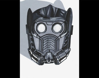 Star Lord Mask PRINT