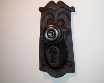 Disney Mickey Mouse 3D Doorbell Plate Replica Antique Copper