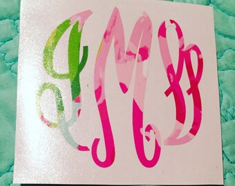 Lilly Inspired Monograms